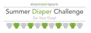 Summer Diaper Challenge Logo