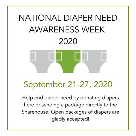 National Diaper Need Awareness Week 2020